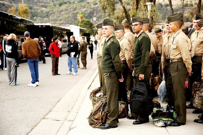 Marines welcomed at homes for holidays