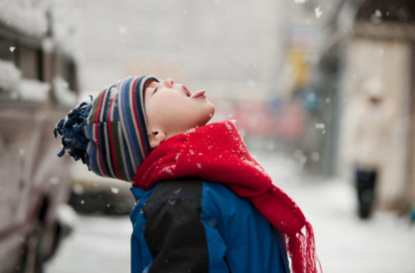 Snow may be pretty, but a study warns that snow in urban areas also soaks up toxic pollutants.