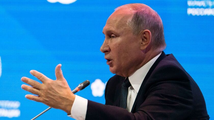 Russian Energy Week international forum in Moscow, Russian Federation - 03 Oct 2018