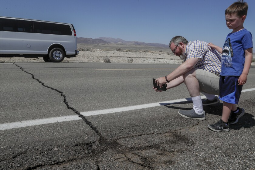 Southern California 6.4 earthquake