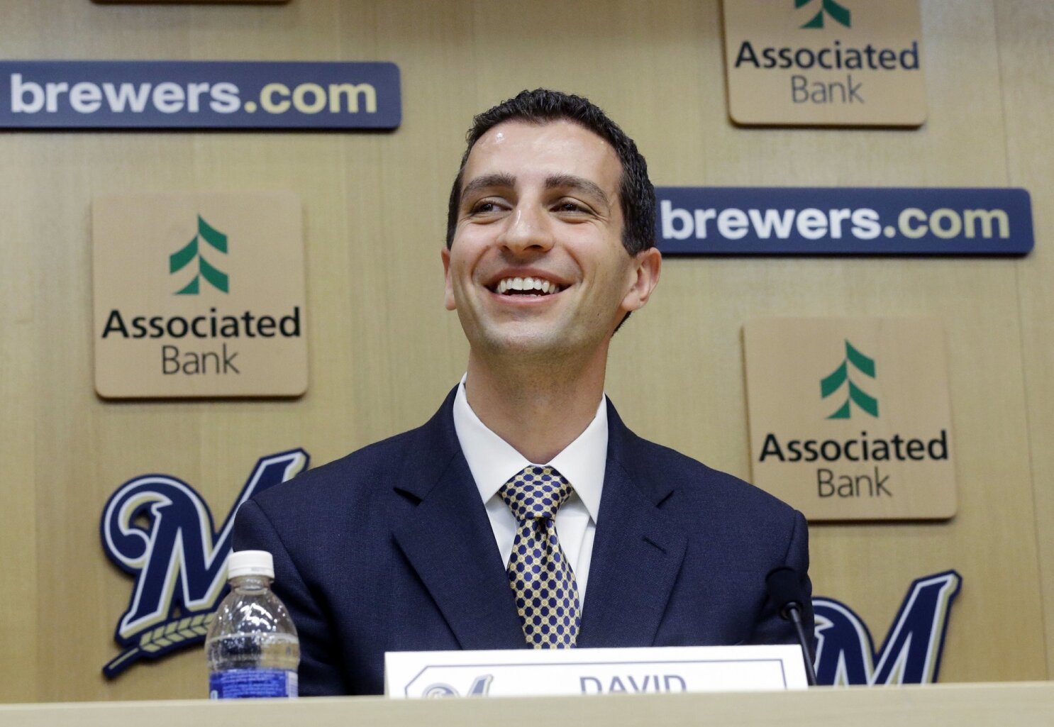 Brewers President of Baseball Ops, David Stearns