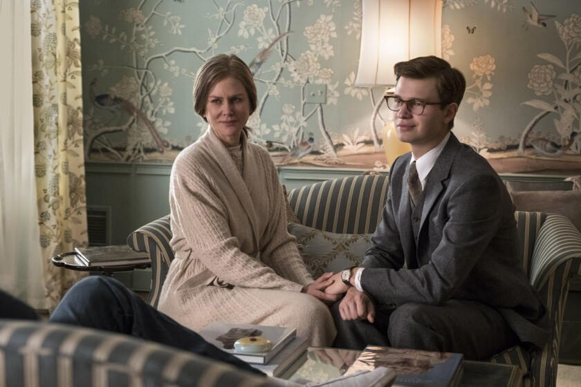 Nicole Kidman, Ansel Elgort, 'The Goldfinch'