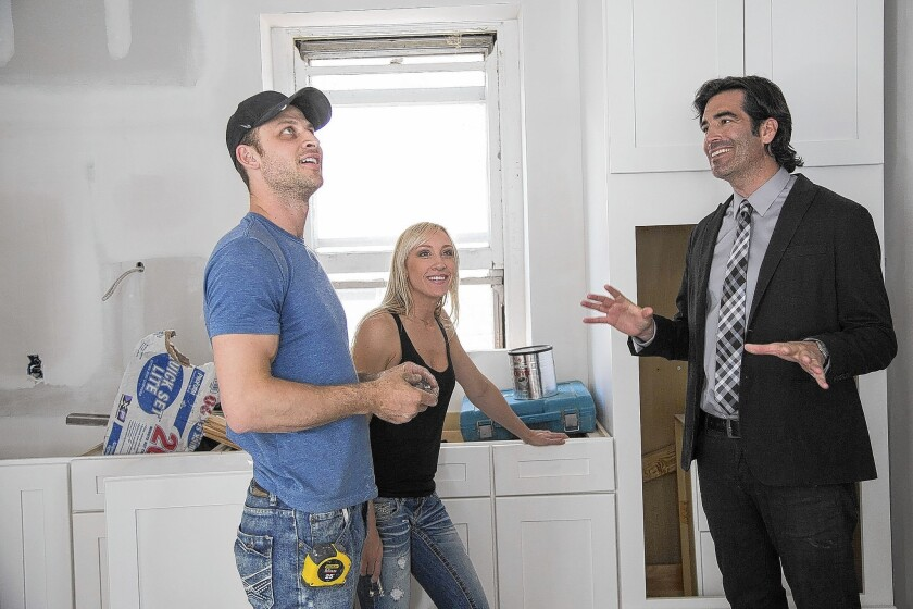"Carter Oosterhouse of ""Rowhouse Showdown"" says getting on a TV home show can be ""cutthroat."""