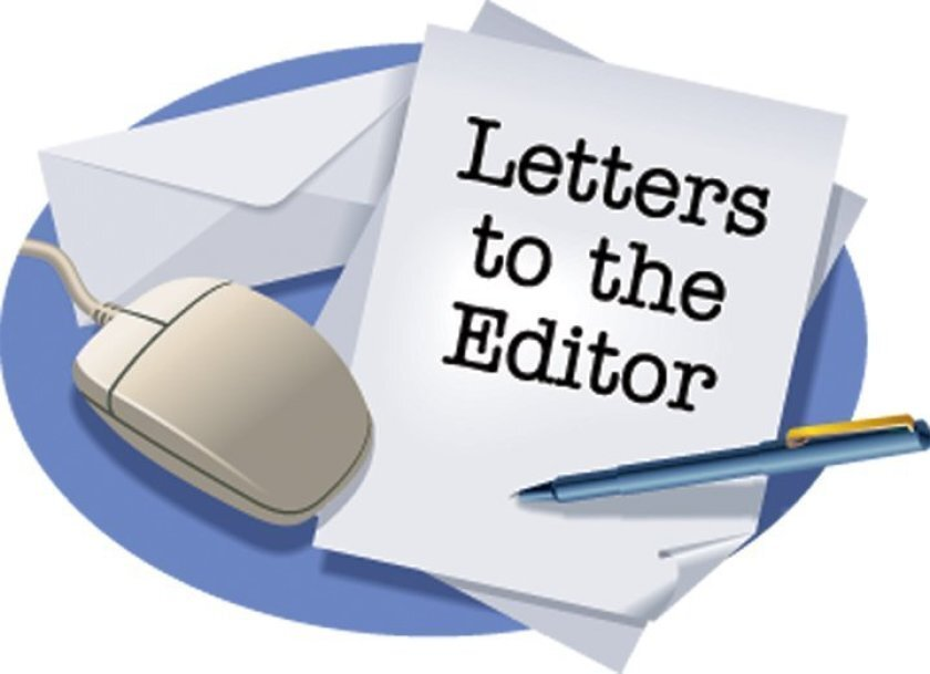 letter, pen and computer mouse - letters to the editor clip art