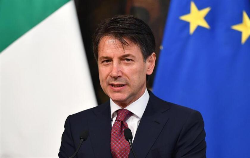 El presidente de México, Enrique Peña Nieto, conversó vía telefónica con el nuevo presidente del Gobierno de Italia, Giuseppe Conte, a quien felicitó por su reciente investidura, informó hoy su oficina de prensa. EFE/ARCHIVO