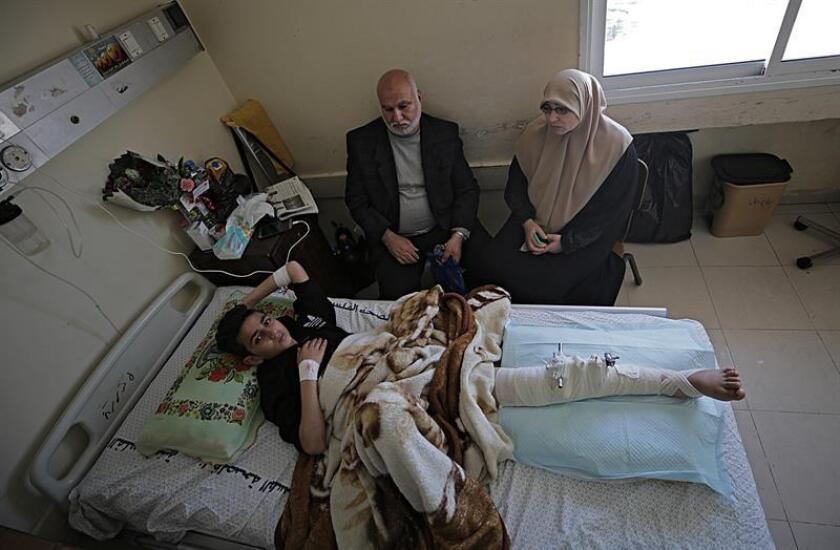 El presidente Donald Trump ordenó esta semana cancelar una ayuda de 25 millones de dólares destinada a centros hospitalarios en Palestina y dio instrucciones para que dichos fondos fueran empleados en alguna otra causa, informaron hoy medios locales. EFE/ARCHIVO