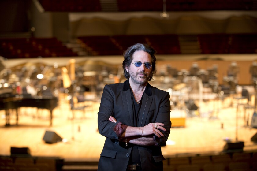 The composer and founder of rock band Winger, Kip Winger, has been nominated for a contemporary classical Grammy award.