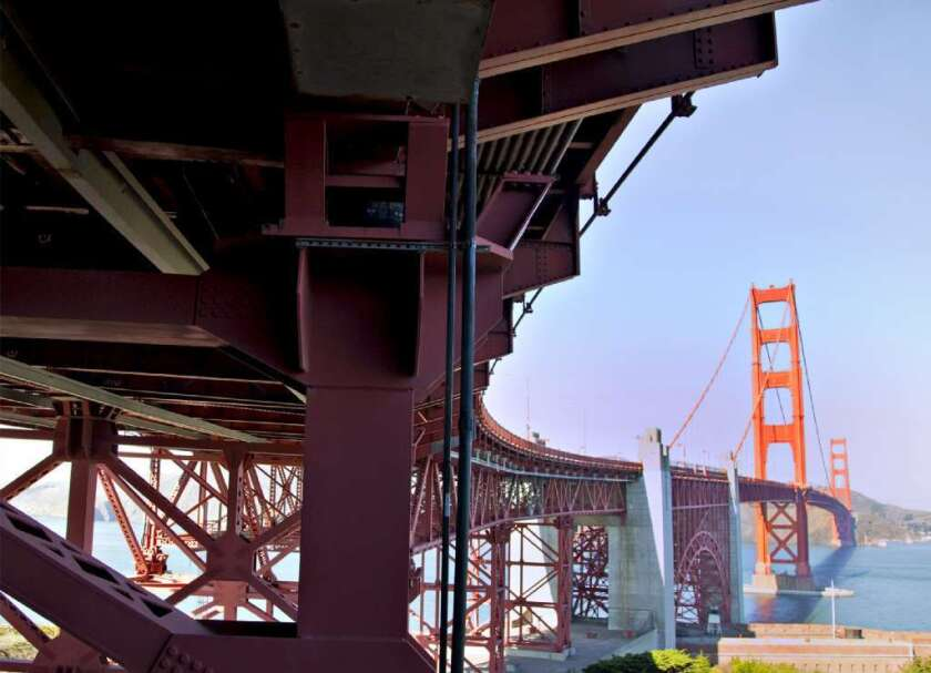 A record 10 people jumped to their deaths from the Golden Gate Bridge last month. Some have called for a larger barrier to be erected along the bridge, saying the current four-foot wall is too easy to climb over.
