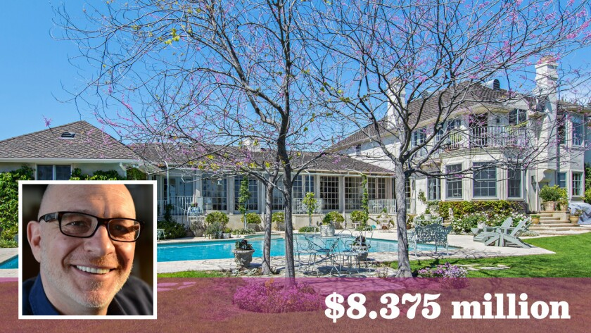 Oscar-winning screenwriter Akiva Goldsman has bought the Pacific Palisades home of Motion Picture Assn. of America president Bob Pisano for $8.375 million.