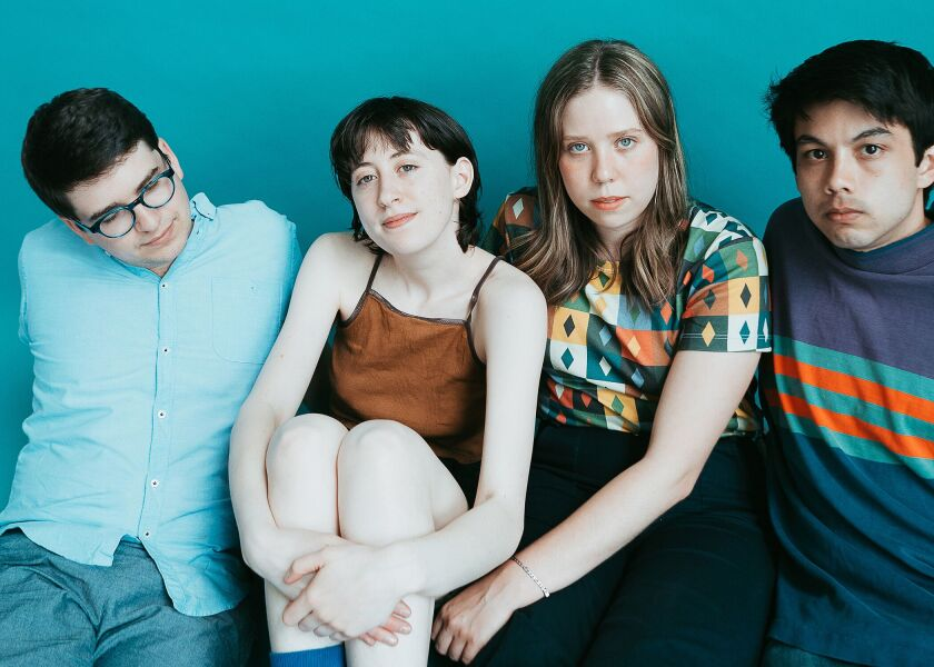 A photo of Frankie Cosmos by Jackie Lee Young