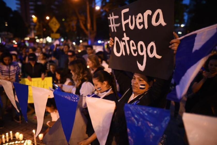 El Departamento de Estado ordenó hoy la evacuación de Nicaragua de todo el personal no esencial perteneciente al Gobierno debido a las protestas que azotan el país centroamericano desde hace más de dos meses y medio. EFE/ARCHIVO
