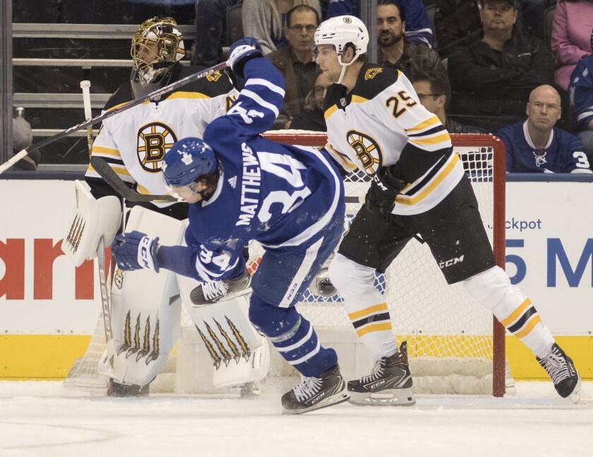 Bruins Maple Leafs Hockey