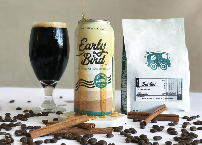 Coronado Brewing Company's Early Bird Cold Brew Stout.