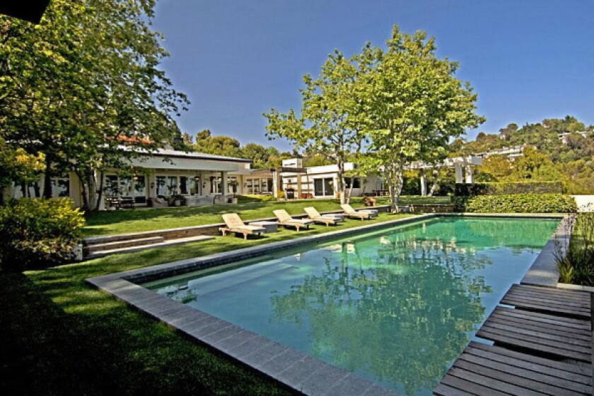 Talk show host Ellen DeGeneres priced her 3-acre estate at $49 million.