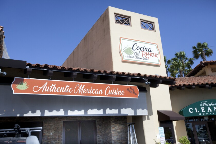 Cicciotti S Founder Tests Out Mexican Cuisine In Rancho Santa Fe