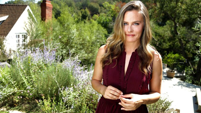 LOS ANGELES, CA., SEPTEMBER 10, 2018--Actress/activist Alicia Silverstone has teamed up with a top n