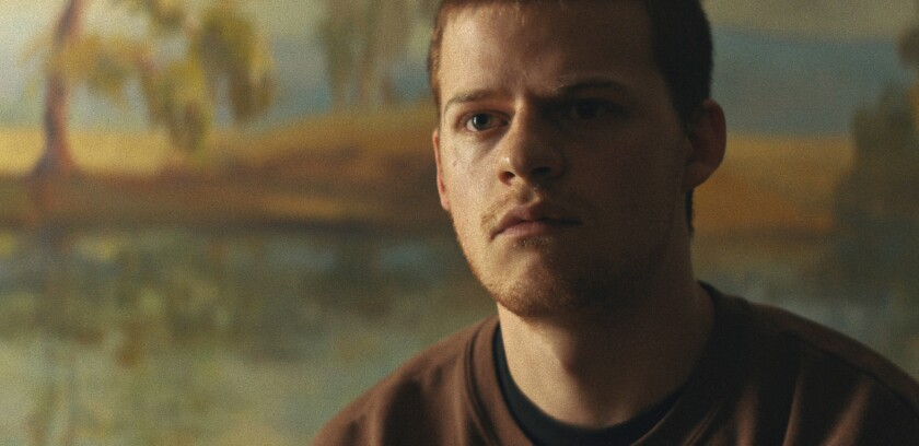 "Lucas Hedges plays Otis at 22 in ""Honey Boy."""