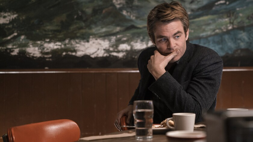 """Chris Pine in """"I Am the Night"""" on TNT."""