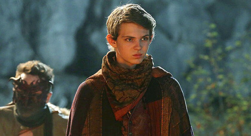 """Peter Pan (Robbie Kay) is the menacing leader of the Lost Boys in """"Once Upon a Time."""""""