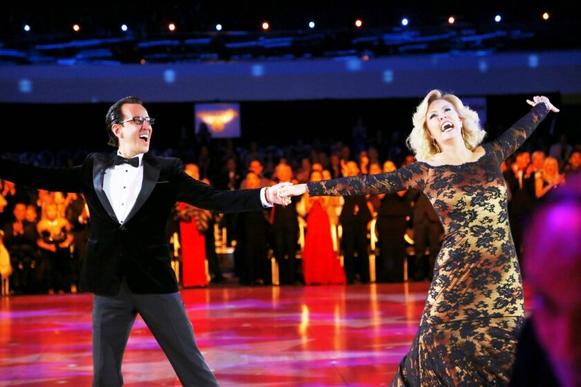 """Tony Meredith and Mary Murphy emcee the returning PBS series, """"America's Ballroom Challenge,"""" which will determine the best of the best dancers in the U.S."""