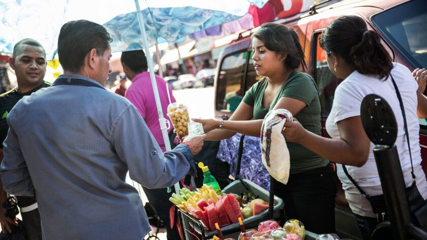 Los Angeles street vendor