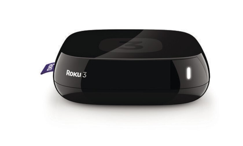 Roku Inc.'s Roku 3 device.