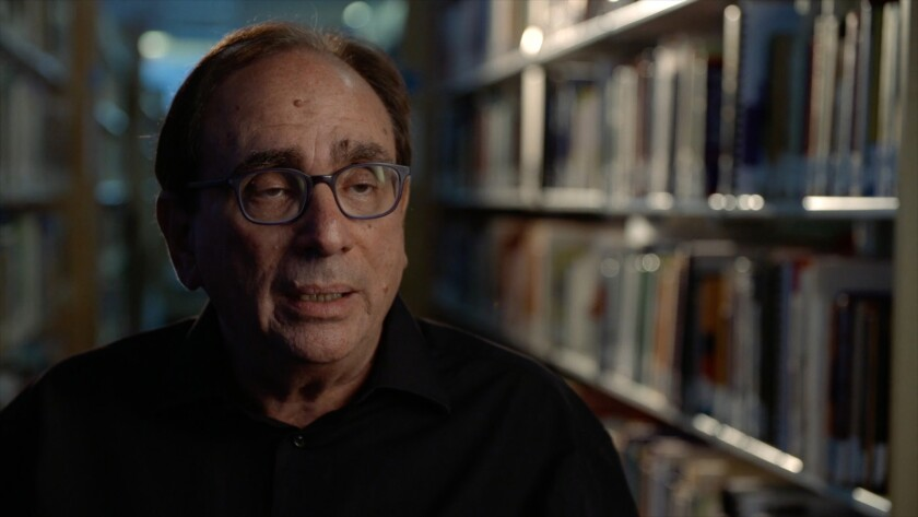 "R.L. Stine in a scene from ""Scary Stories."" Credit: Wild Eye Releasing"