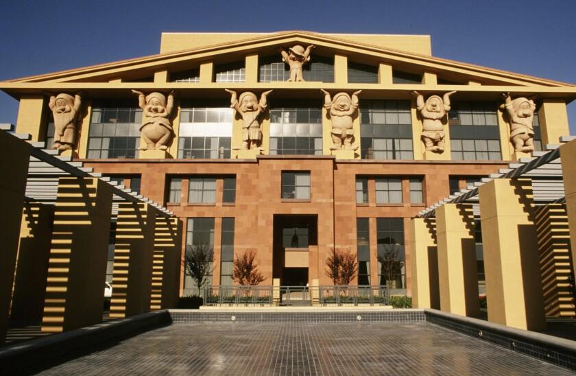Disney Corp. headquarters in Burbank