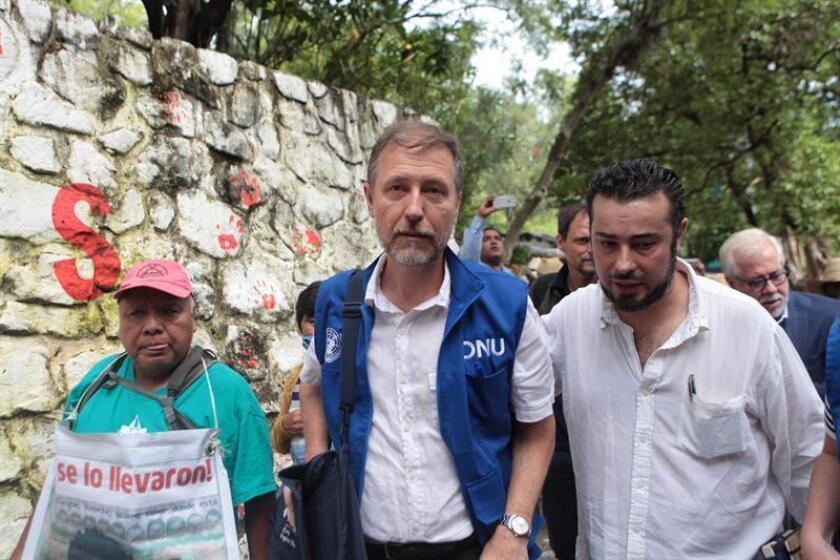 La situación actual de los casos de desaparición en el sureño estado de Guerrero serán valorados en una misión conjunta que realizarán la oficina en México del Alto Comisionado de Naciones Unidas para los Derechos Humanos (ONU-DH México) y la Comisión Nacional de los Derechos Humanos (CNDH). EFE/ARCHIVO