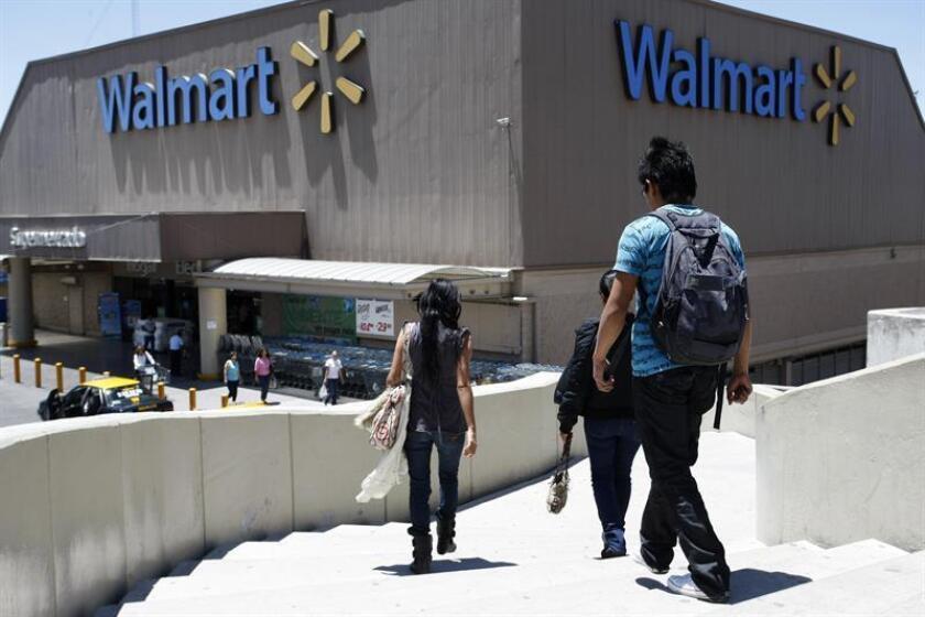 Walmart de México anunció hoy la compra por 225 millones de dólares de Cornershop, una plataforma de entrega a domicilio desde supermercados, farmacias y tiendas especializadas. EFE/Archivo