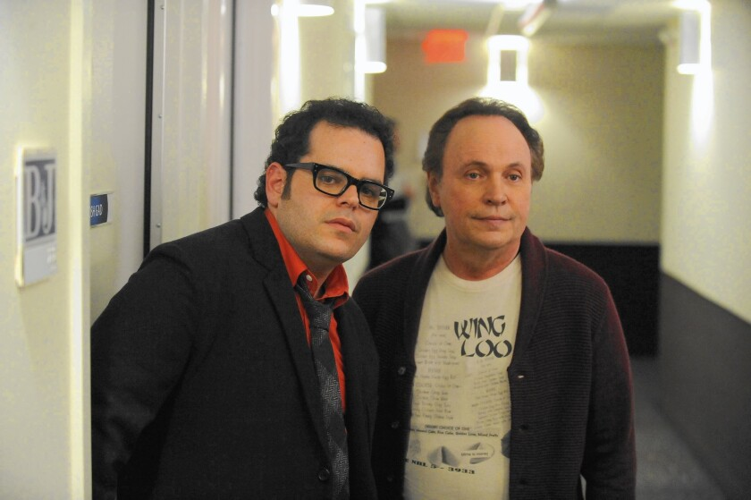 Josh Gad and Billy Crystal in FX's 'The Comedians'