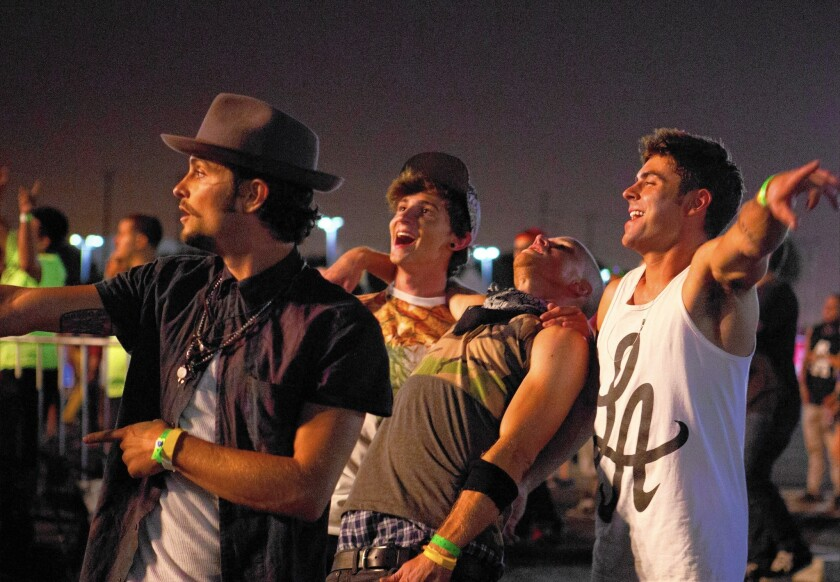Review: 'We Are Your Friends' gets lost amid a sensitive sensibility and party hearty