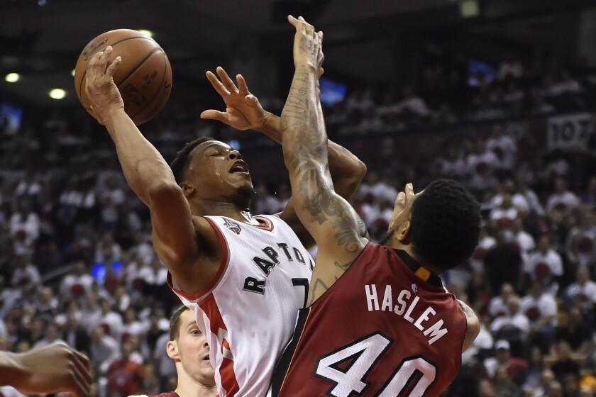 Kyle Lowry; Udonis Haslem