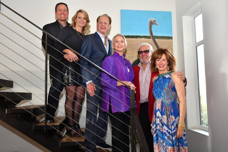 Leo Rubidoux and Kimberly Brady-Rubidoux, Ron and Mary Alice Brady (she's on WFS advisory board), Dan and Barbie Spinazzola