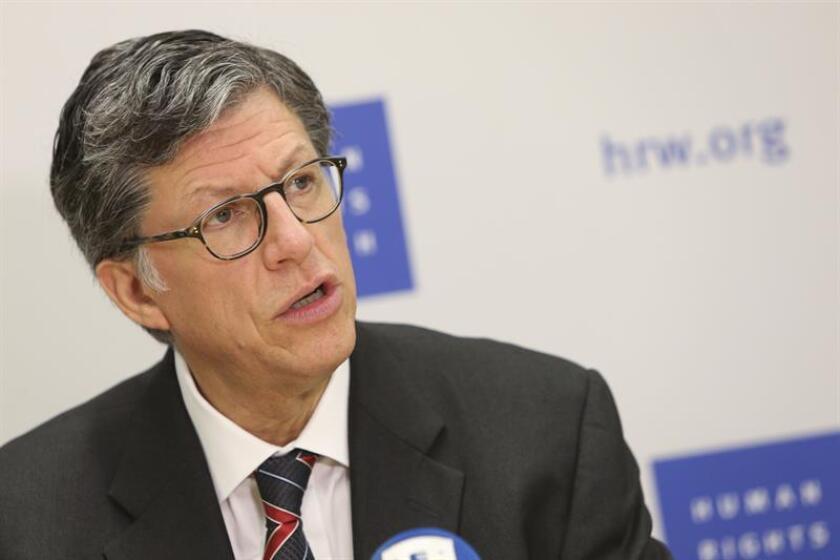 El director para las Américas de la a organización Human Rights Watch (HRW), José Miguel Vivanco. EFE/Archivo