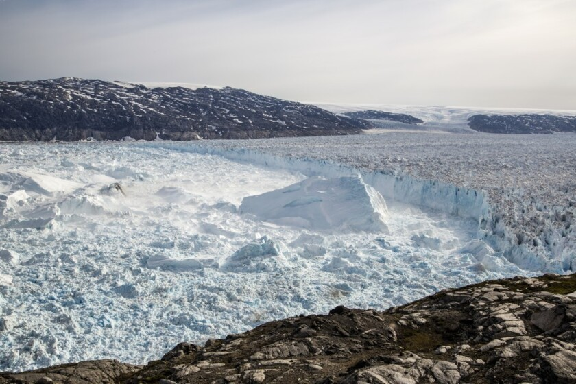 Greenland Ice Sheet losing mass at alarming rate