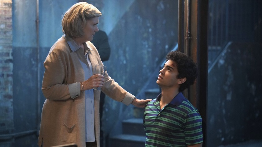 """Debra Monk and Davi Santos in """"Tell Me a Story"""" on the CW."""