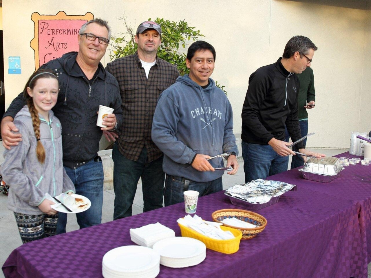 Zoey and Bob Preston, Dan Kyle, Miguel De Los Rios, Brian Farmer