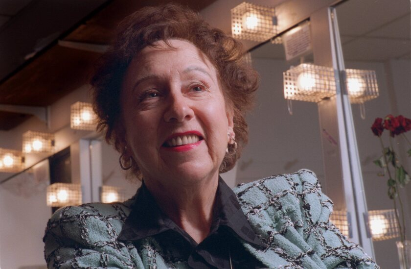 "Jean Stapleton (1923-2013) -- An award winning actress who won three Emmys for her role as the gentle but defiant Edith Bunker on TV's ""All in the Family."""