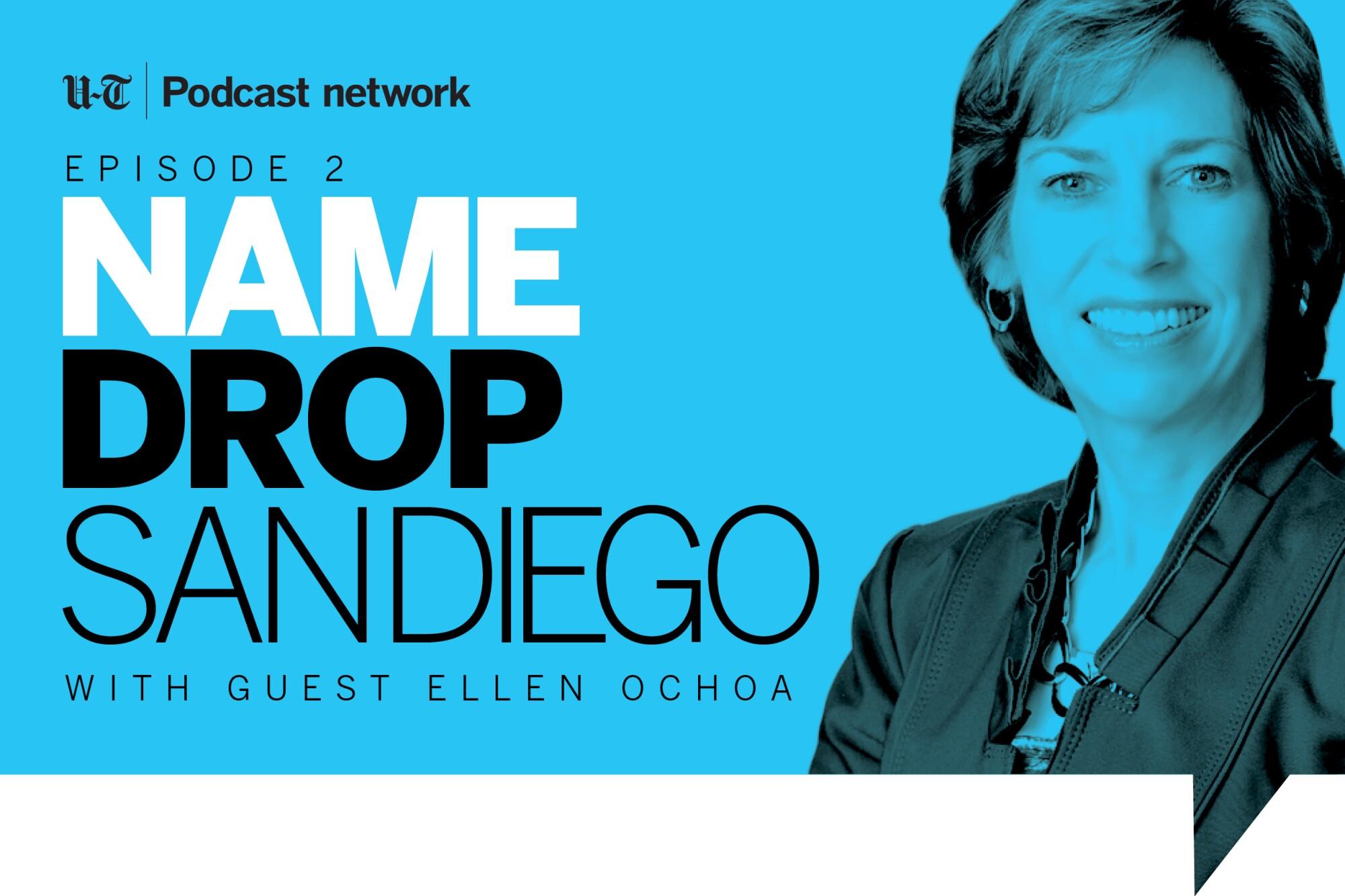 Ellen Ochoa on Name Drop San Diego.