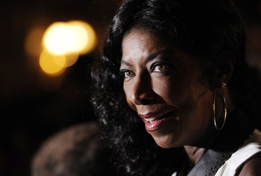 Natalie Cole is interviewed following the 14th annual Latin Grammy Awards nominations at Avalon on Sept. 25, 2013, in Los Angeles. Cole was nominated for a Latin Grammy.