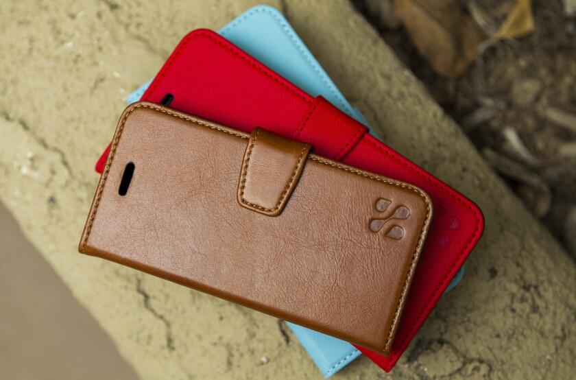 SafeSleeve's cases for Apple's iPhones and Samsung's Galaxy devices retail for about $40 to $70 each. The company also makes laptop cases that cost $74.95.