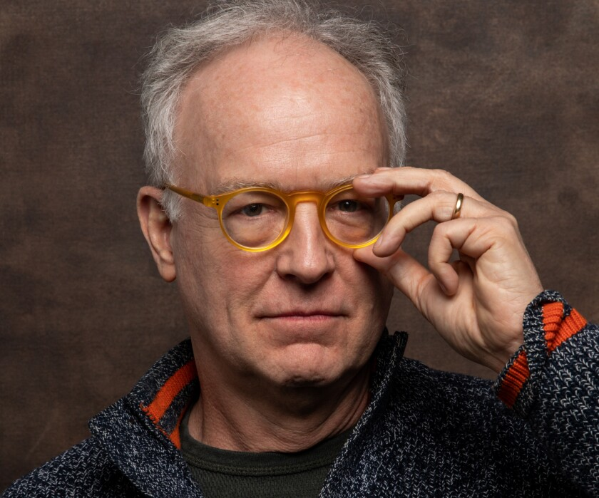 Reed Birney, photographed at the Sundance Film Festival this year.
