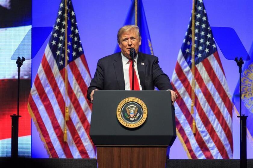 US President Donald J. Trump. EFE/EPA/FILE