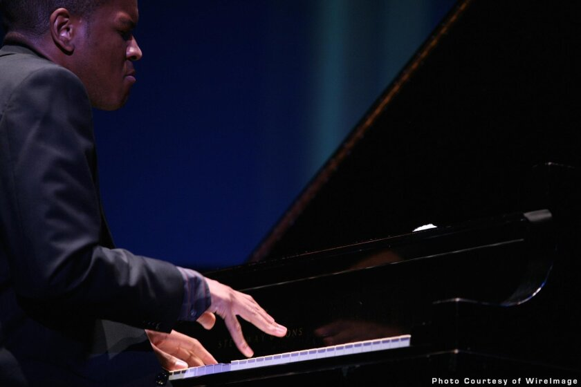 San Diego jazzman Joshua White and two other pianists will present a tribute to Thelonious Monk, Art Tatum and Bud Powell Jan. 23, 2016 for San Diego Symphony's 'Upright & Grand' piano festival.