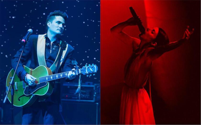 Mitre (izq.) y Ely Guerra participan en el nuevo sencillo.