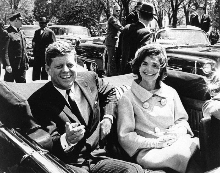 A file picture dated 03 May 1961 shows US President John F. Kennedy and First Lady Jacqueline Kennedy in Washington, D.C., USA.