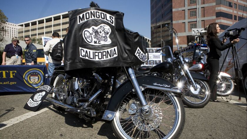 Judge refuses to strip Mongols biker club of trademarked logo - Los