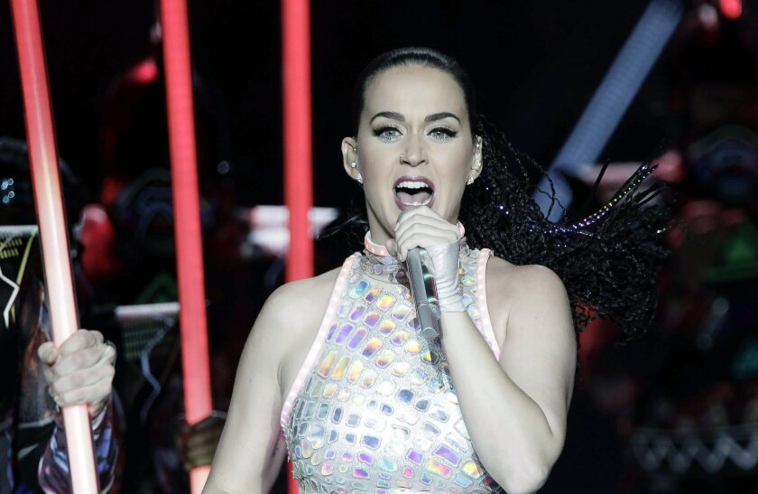 Katy Perry tops Forbes list of top women earners in music