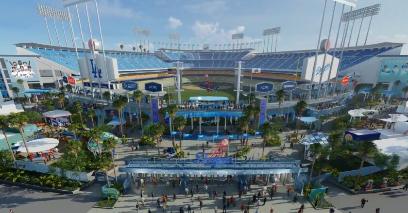 Dodger Stadium renovations 2020